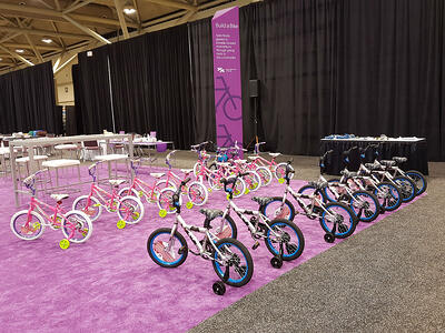 Bonding for a cause - bike building