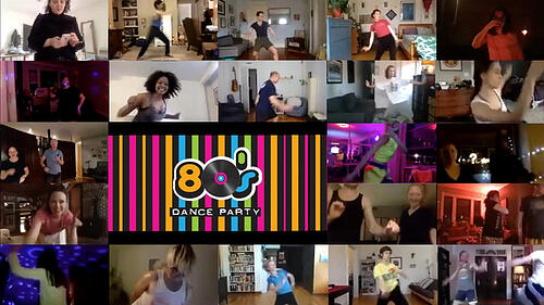 VIDEO DANCE PARTY (80s)-1