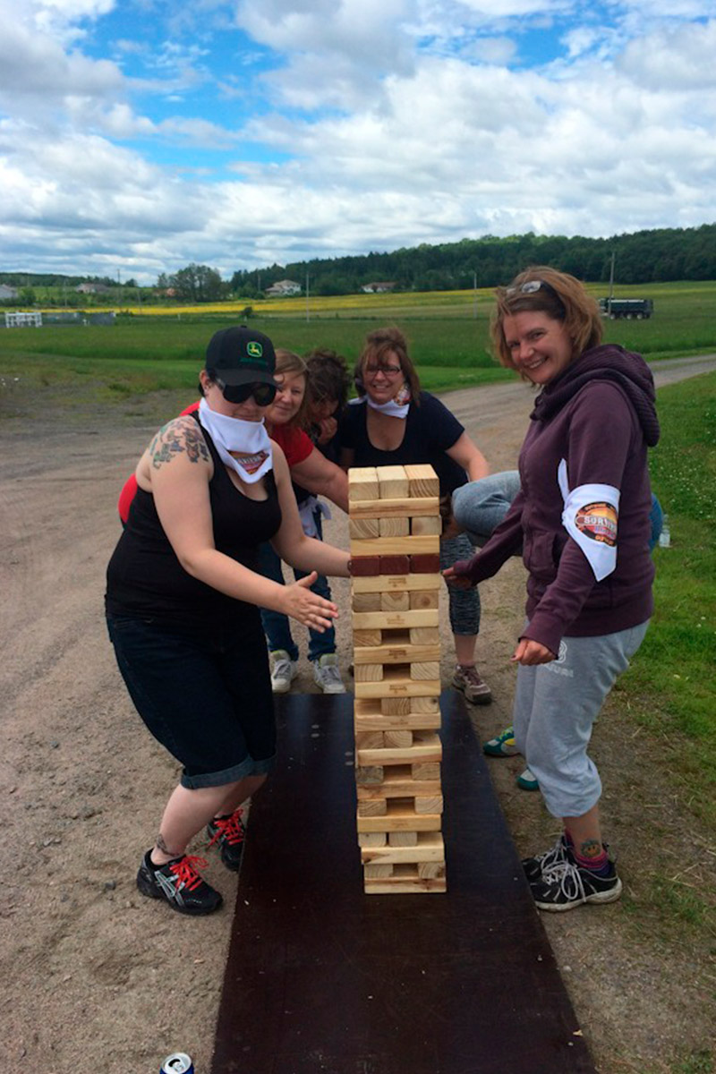 Minutes to Win it - Giant Jenga