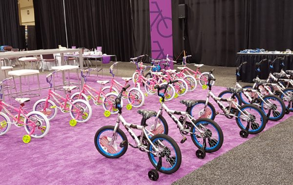 BONDING FOR A CAUSE: BICYCLE BUILDING